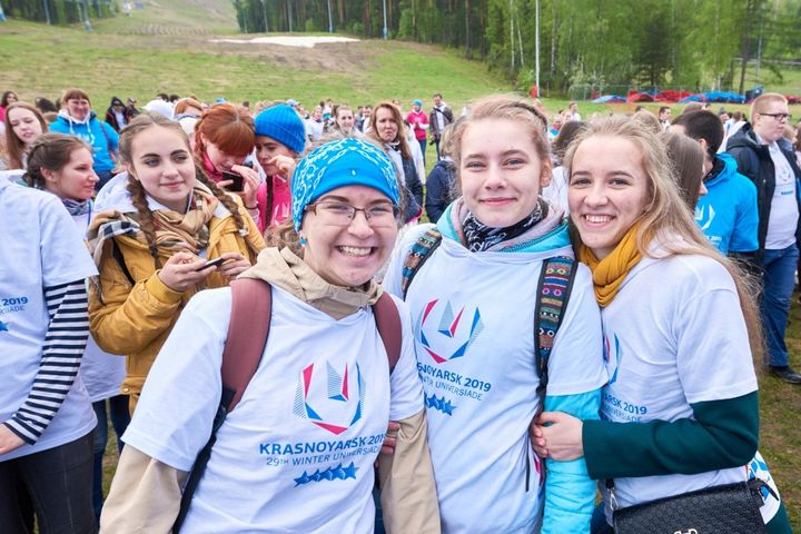 Волонтеры программы «Команда-2019»