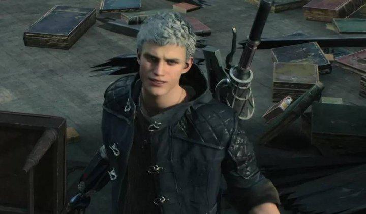 скриншот игры Devil May Cry 5