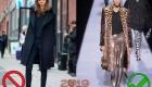 Модные пальто и антитрнеды 2019 года