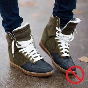 Обувь, которая вышла из моды