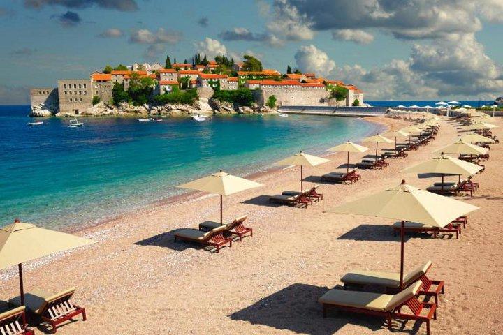 пляж черногории