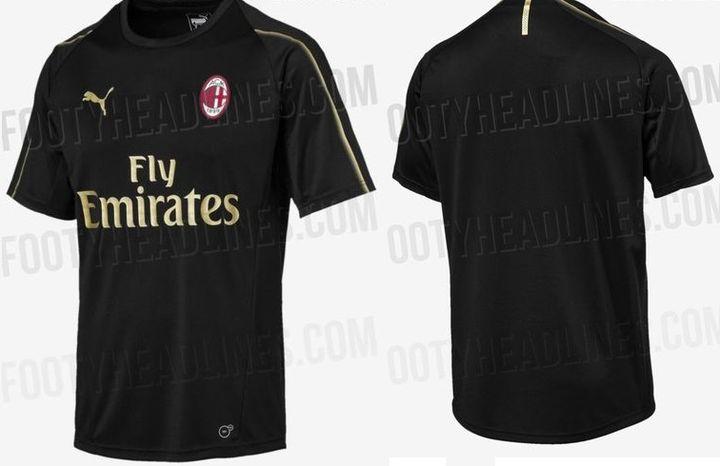 Training kit form FC Milan 2018-2019 year