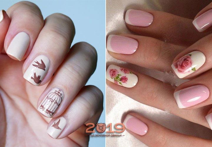 Креативный дизайн ногтей мода 2019 года