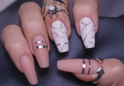 "Ногти ""балерина"" мода 2019 года"
