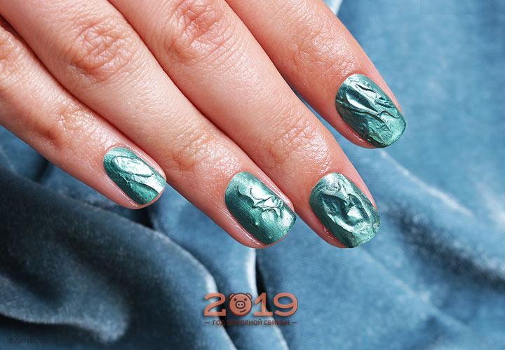 Модный дизайн ногтей - гель-лак 2019 года
