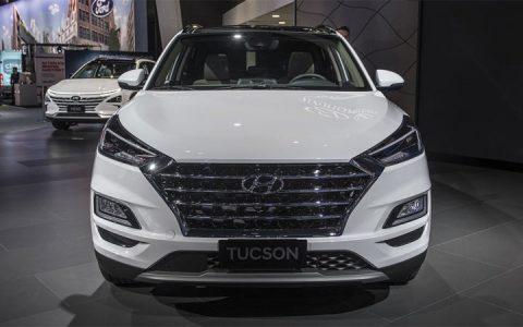 Экстерьер Hyundai Tucson 2019 года