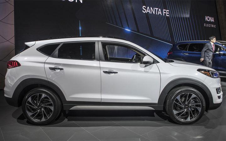 Новый дизайн Hyundai Tucson 2019 года