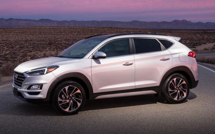 Рестайлинговый Hyundai Tucson 2019