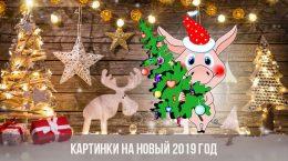 Картинки на Новый 2019 год