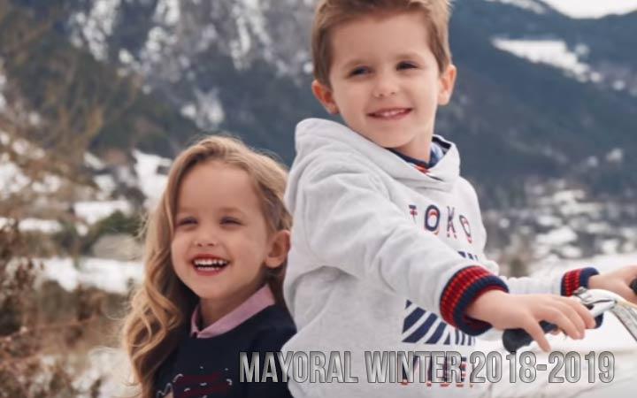 Майорал детская коллекция осень-зима 2018-2019