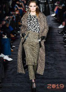 Модный леопардовый образ от Макс Мара
