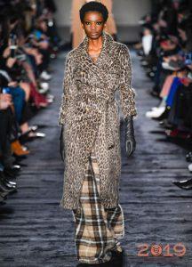 Леопардовое пальто Макс Мара
