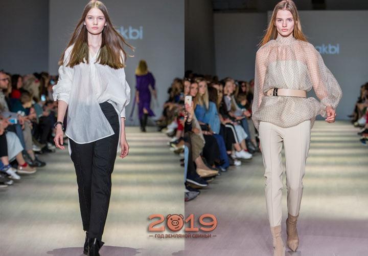 Блузы Лакби осень-зима 2018-2019
