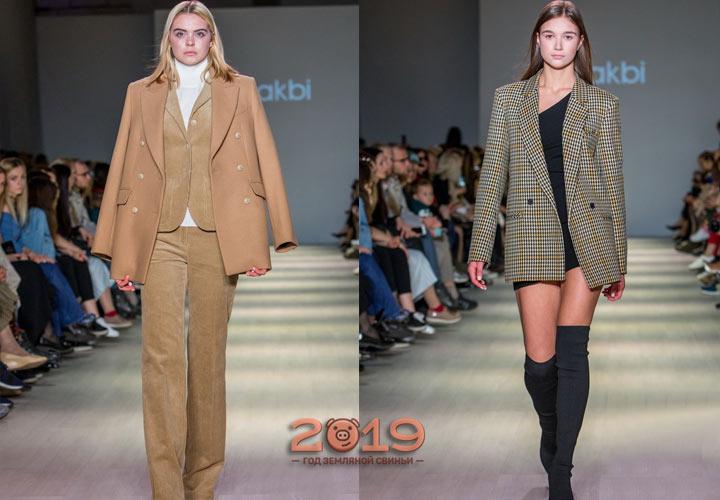 Модные жакеты от Лакби зима 2018-2019