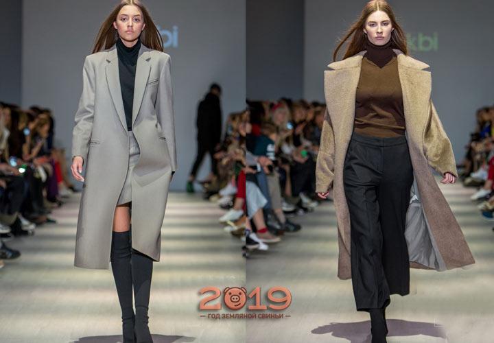 Модные пальто Лакби осень-зима 2018-2019