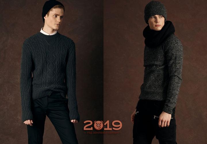 Модные свитера Лакби зима 2018-2019