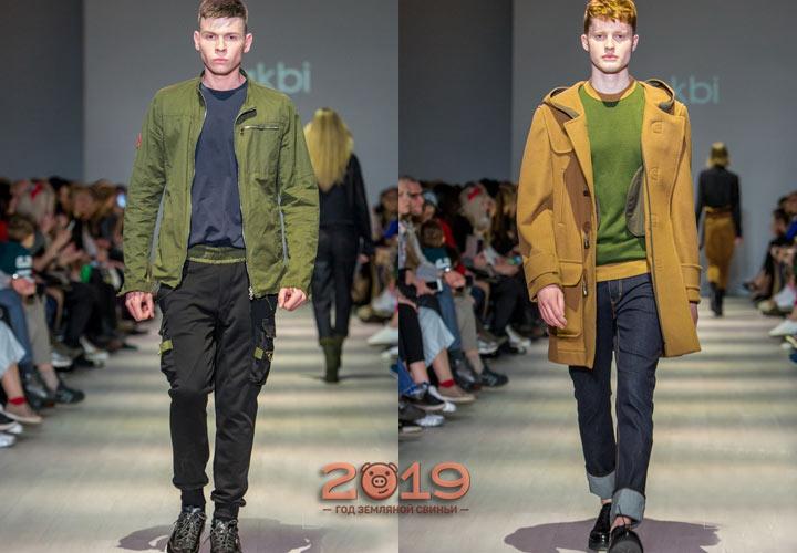 Мужская мода Лакби осень-зима 2018-2019