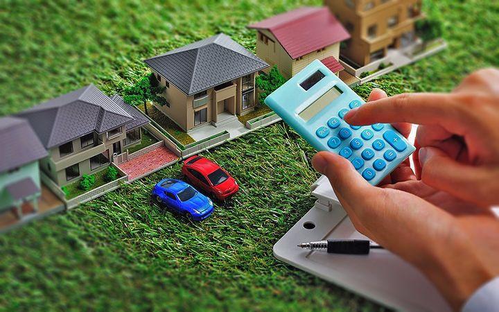 Расчет налога на движимое и недвижимое имущество