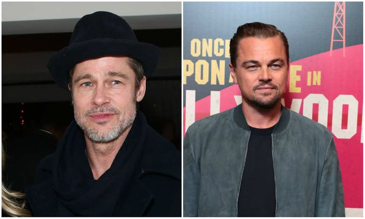 Leonardo DiCaprio and Bredd Pitt