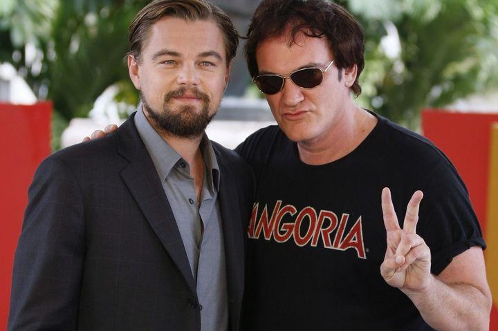 Tarantino and DiCaprio