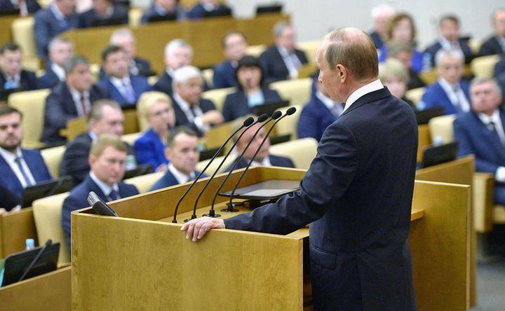 Путин на заседании правительства