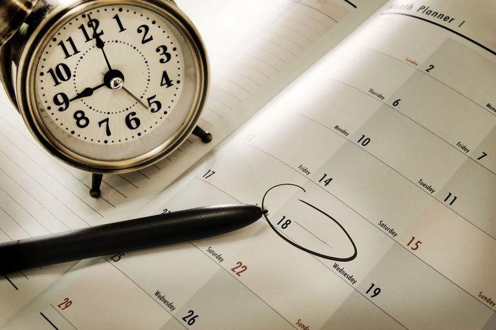 Ежедневник и часы