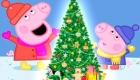 Новогодняя свинка Пеппа рисунки на 2019 год