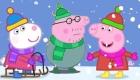 Новогодний рисунок со свинкой Пеппой
