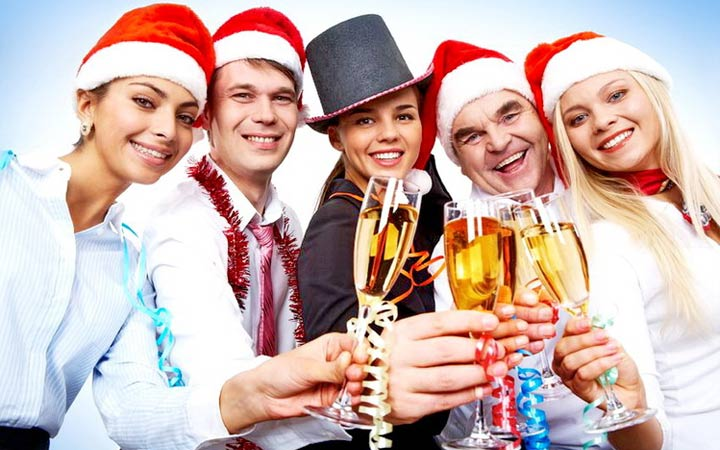New Year's toasts for the corporate party 2019