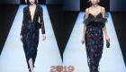 Модные платья Giorgio Armani  осень-зима 2018-2019