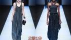 Блестящее платье от Армани зима 2018-2019