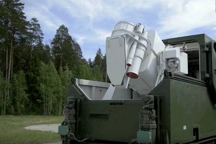 Боевой лазер Пересвет