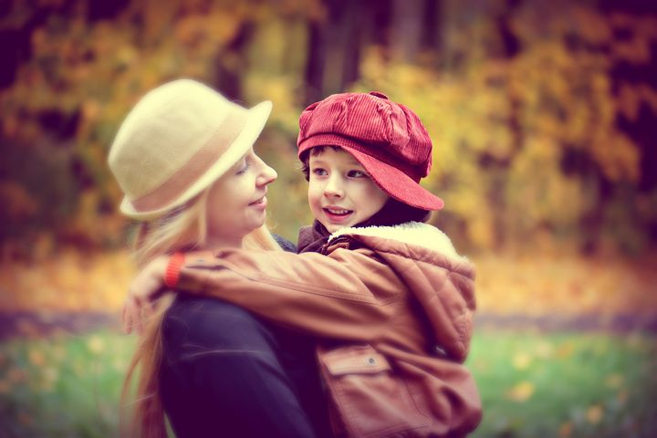 Мама и ее сын
