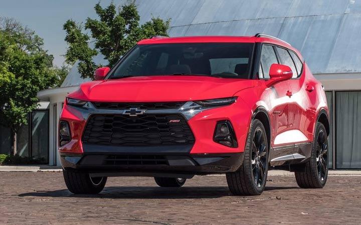 Экстерьер нового Chevrolet Blazer 2019 года