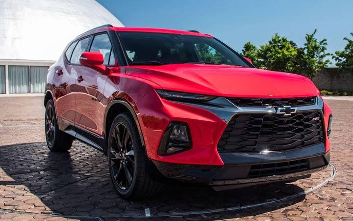 Новый дизайн Chevrolet Blazer 2019 года