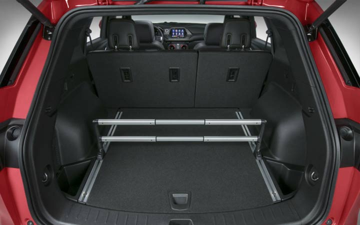 Багажник внедорожника Chevrolet Blazer 2019