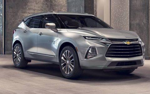 Новый Chevrolet Blazer 2019 года представлен в Лос-Анджелесе