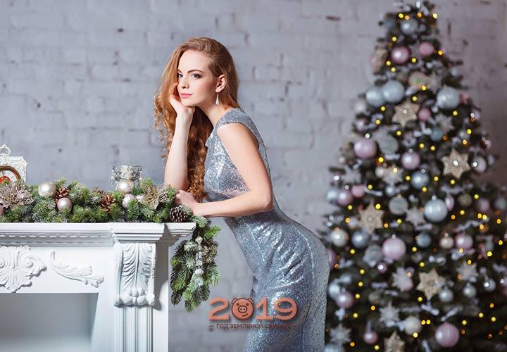 Новогодний образ на 2019 год