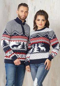 Парные свитера на Новый 2019 год