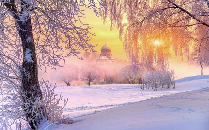 Зима в РФ погода 2019 года