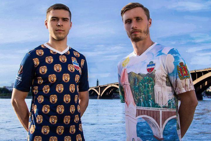 Новая форма ФК Енисей сезона 2018-2019 года