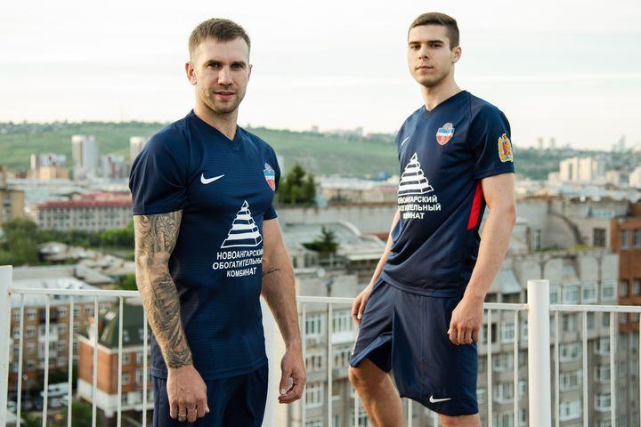 Гостевая форма ФК Енисей сезона 2018-2019 года