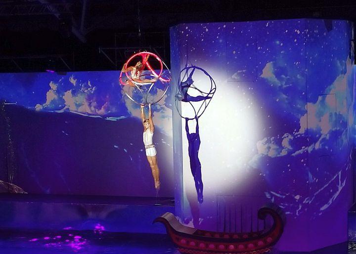 Новогоднее шоу Марии Киселевой на воде «Миссия Одиссей»