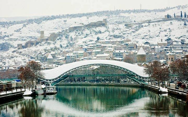 Зимний Тбилиси