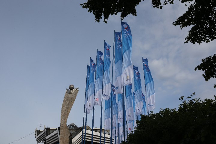флаги форума ПМЭФ