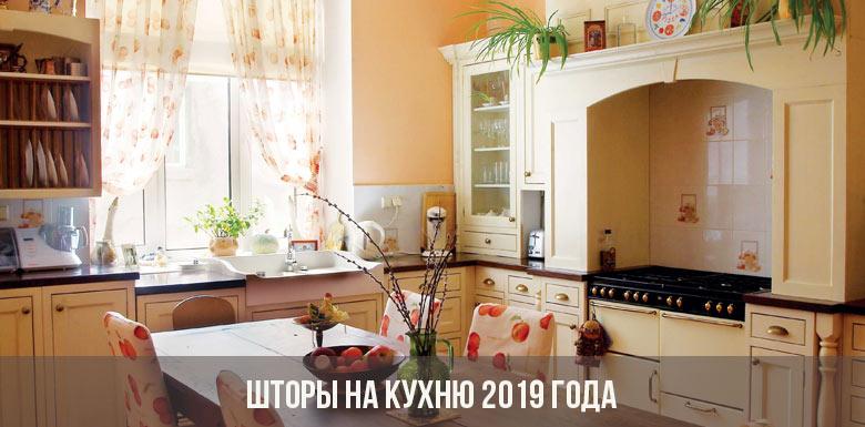 Шторы на кухню 2019 года: современные новинки