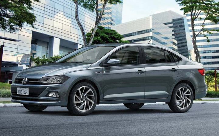 Седан Volkswagen Polo 2019 года