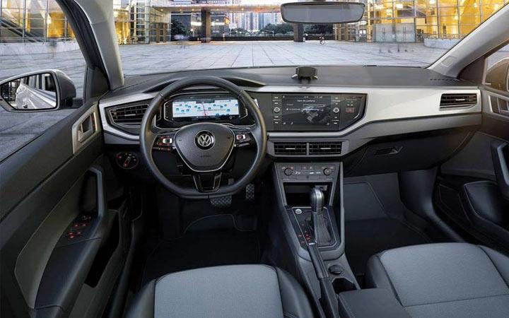 Интерьер Volkswagen Polo 2019