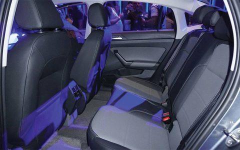Салон седана Volkswagen Polo 2019