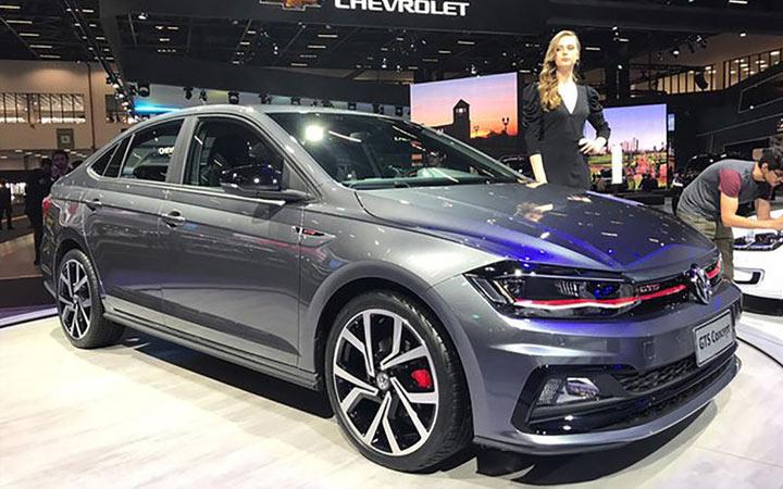 Спортивная версия Volkswagen Polo седан 2019 г